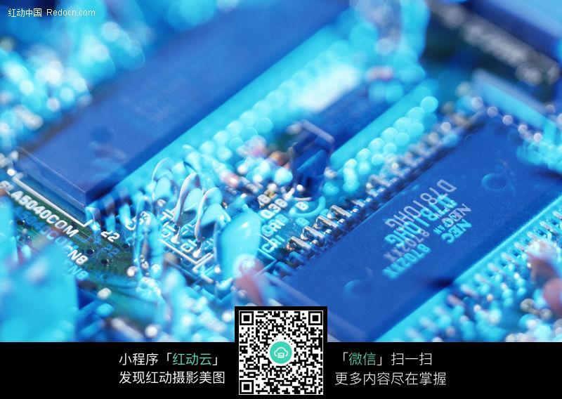 免费素材 图片素材 现代科技 科学研究 电子线路板016