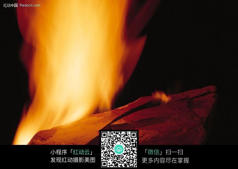 洛克王国烈火战神头像_燃烧的熊熊烈火038图片图片