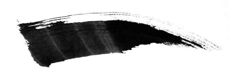 下载 韩国黑白水墨笔刷 047