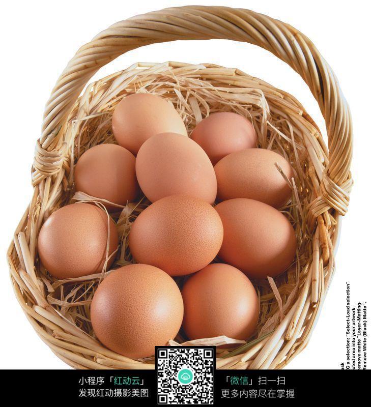 免费素材 图片素材 餐饮美食 食材原料 一篮子鸡蛋14图片