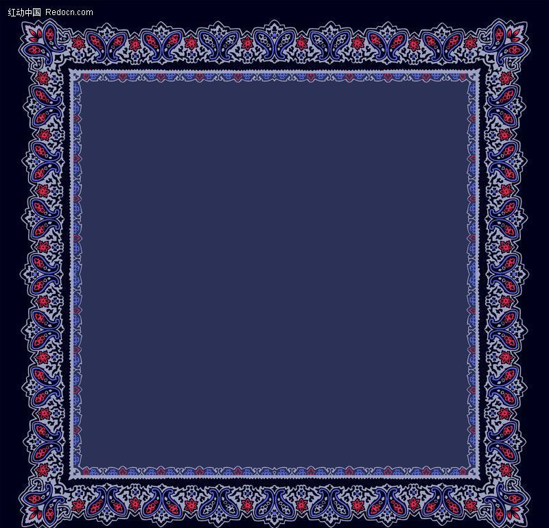 方形边框 48