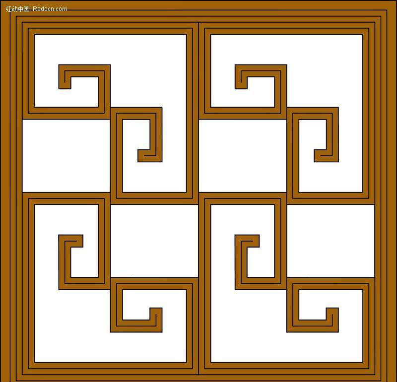 窗棂-中式窗格图片