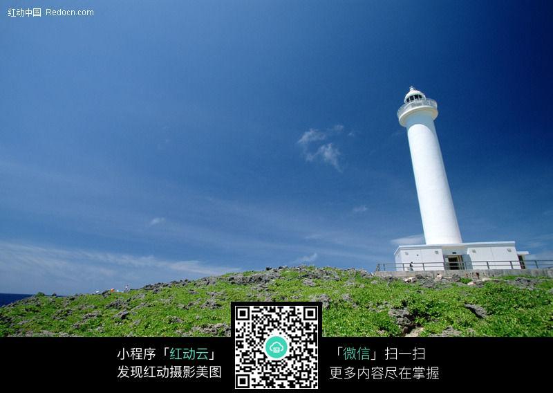 岛屿上的灯塔351a图片