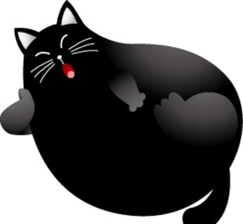 黑猫ai免费下载_陆地动物素材