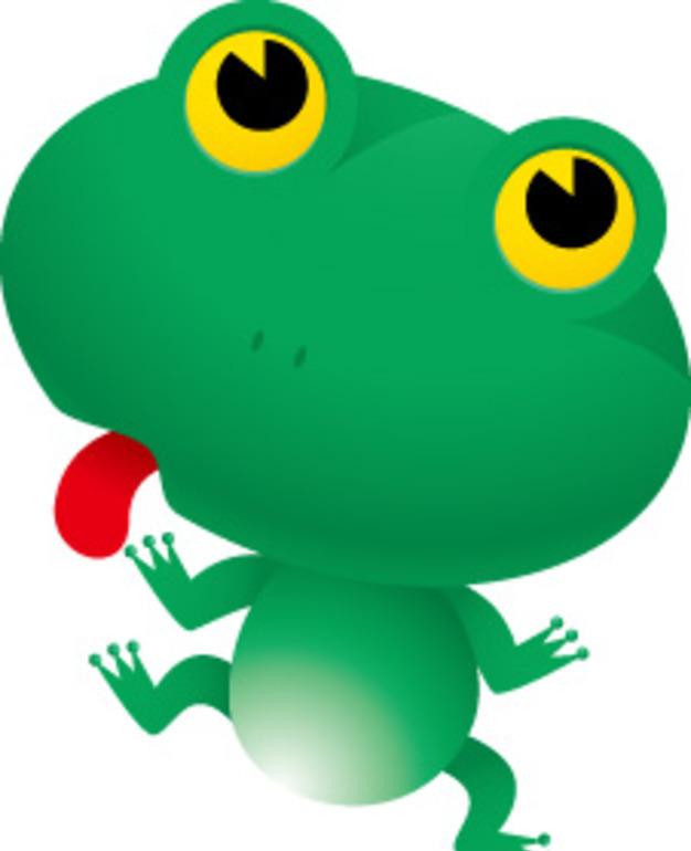 青蛙卡通接吻照片