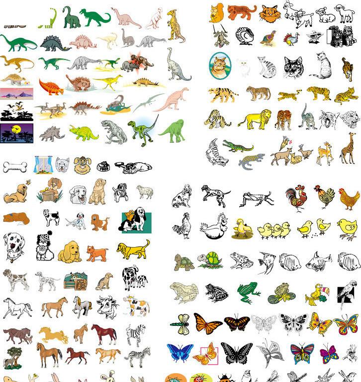 动物图形拼接实训