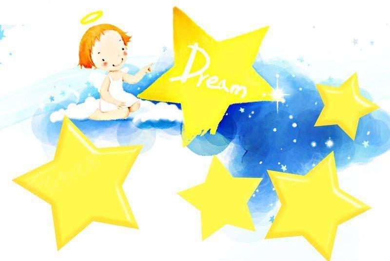 小小天使-卡通儿童模板-07