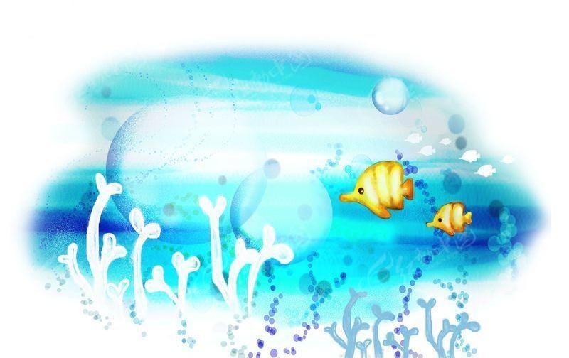 海底世界-儿童模版-04psd免费下载