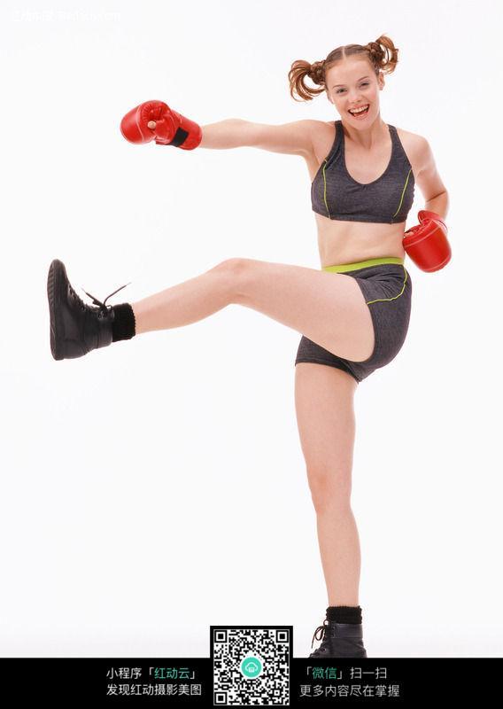 健美健身 运动美女