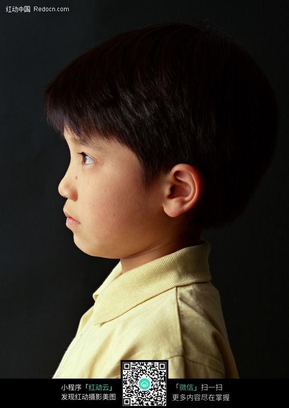 免费素材 图片素材 人物图片 儿童幼儿 儿童侧面照121