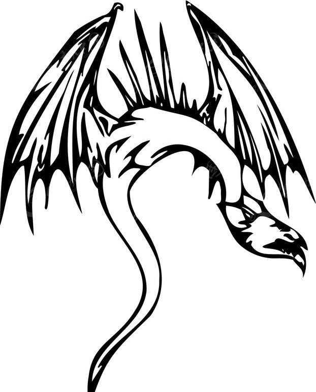 恐龙-021矢量图_陆地动物