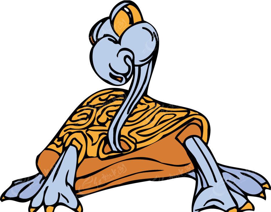 龙龟矢量图_陆地动物