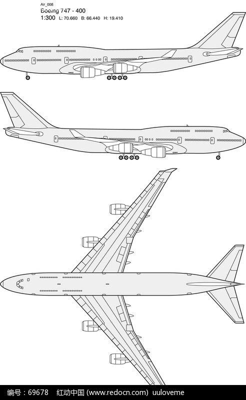 飞机图片大全图简笔画