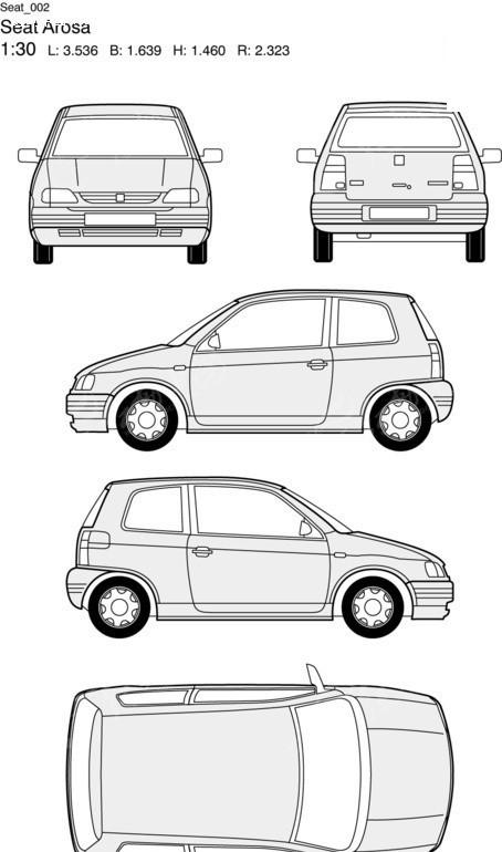 Seat汽车2EPS素材免费下载 红动网