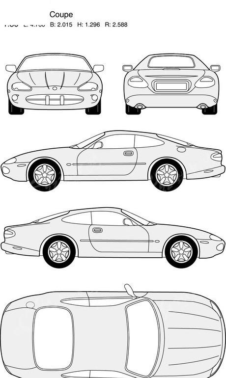 画汽车图片大全步骤