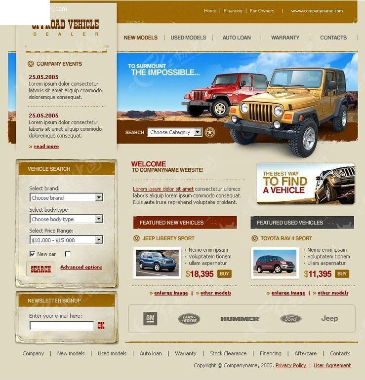 免费素材 网页模板 网页模板 欧美模板 欧美网页模板  请您分享: 素材