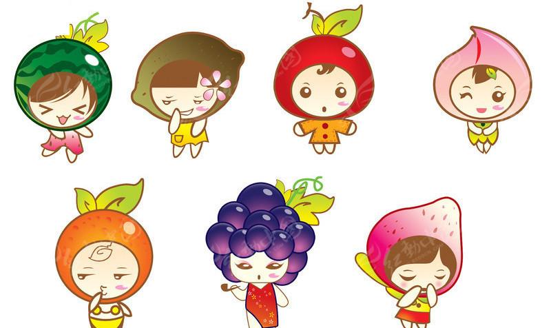 水果卡通人物
