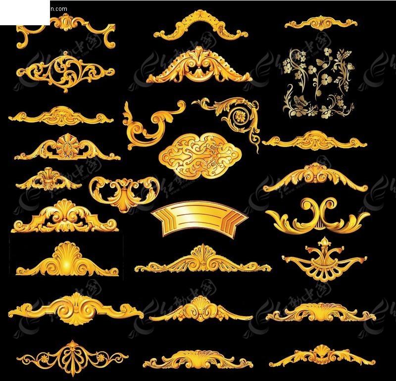 欧式古典花纹图案图片图片
