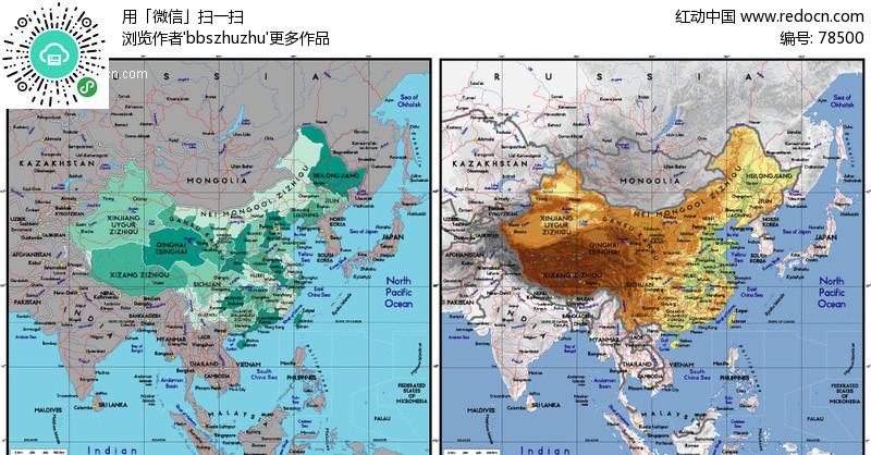 高清中国地图交通图政区图;