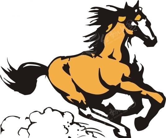 免费素材 矢量素材 生物世界 陆地动物 奔腾的马  请您分享: 素材描述