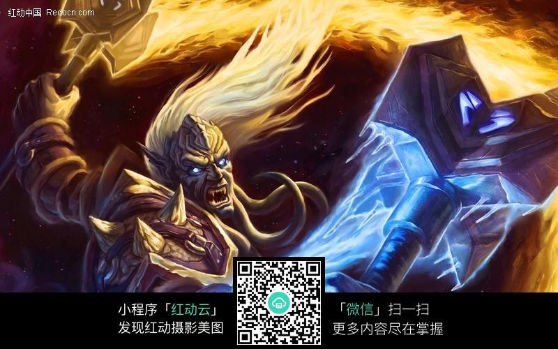 魔兽世界人物高像素图片