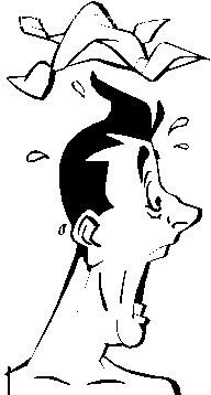 惊讶的表情 3矢量图 人体器官