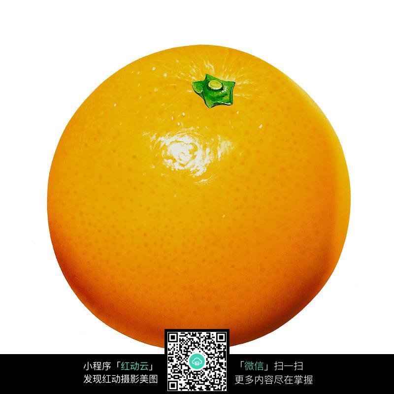 免费素材 图片素材 餐饮美食 水果蔬菜 一个橙子