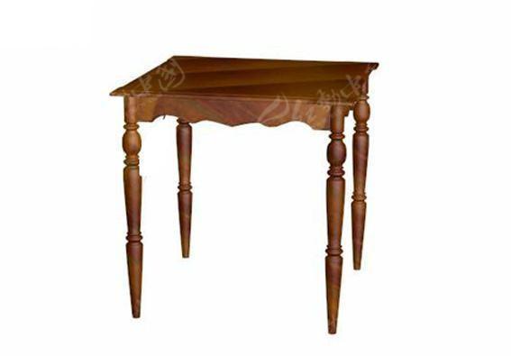 木头桌子简笔画