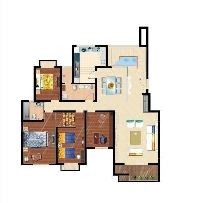 室内平面图手绘 (402x438); ps室内地面; 室内设计手绘平面图图片大全