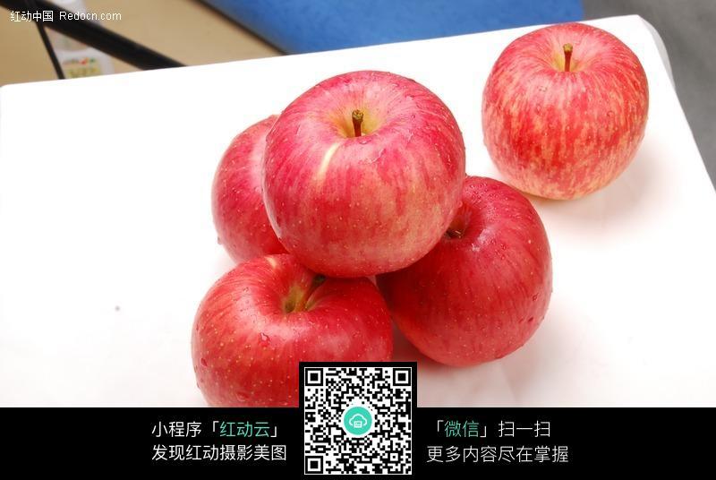 新鲜的红苹果01图片_水果蔬菜图片
