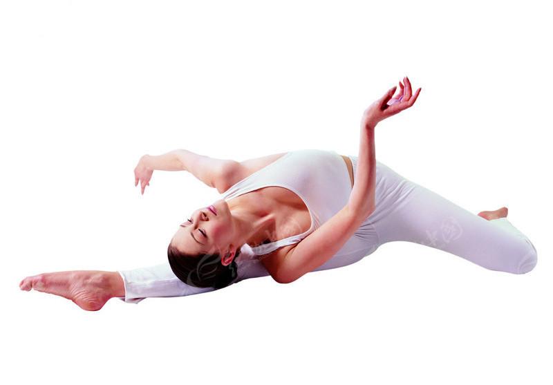 瑜伽健身美女图片