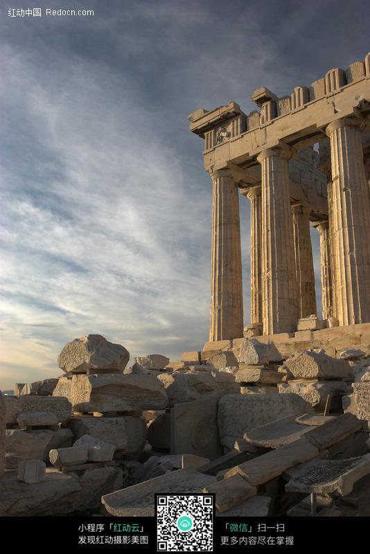 希腊古神庙