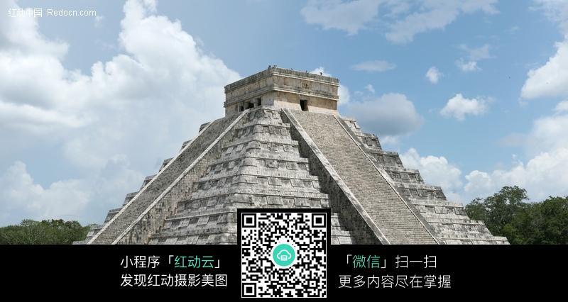 玛雅金字塔_名胜古迹图片