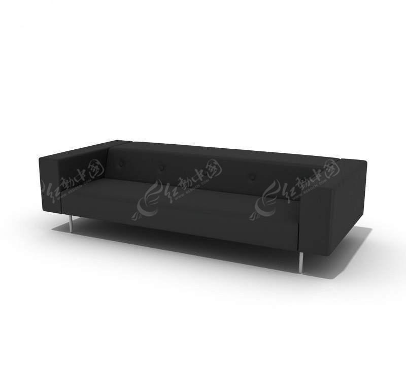 现代三人沙发 3d模型下载 3d模型素材库下载 3d模型免费高清图片