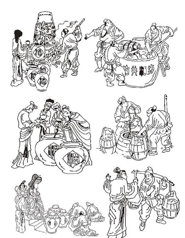 古代少女手绘动漫学习
