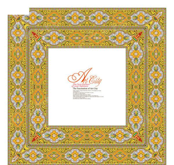 淘宝天猫3d欧式花纹通用 欧式皇家地产开盘海报 欧式地产海报 欧式