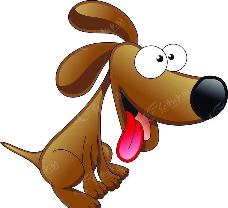 可爱卡通狗图片 小狗 卡通宠物 psd卡通小狗 动物图片 psd素材 psd