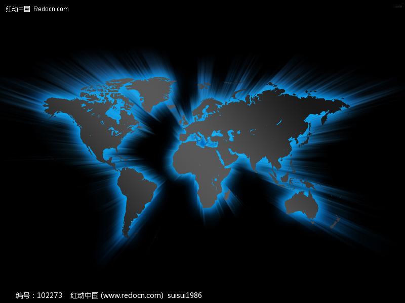 发光的世界地图图片图片