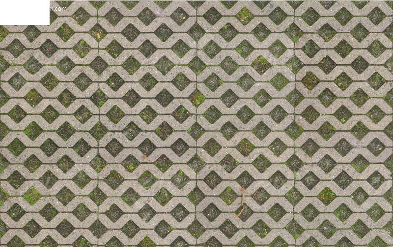 地面网格砖材质贴图图片