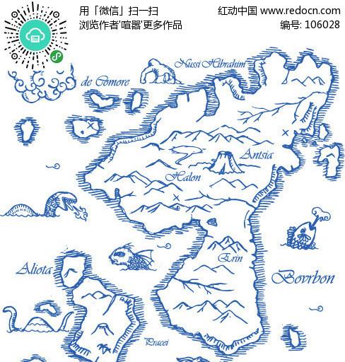 航海地图图片