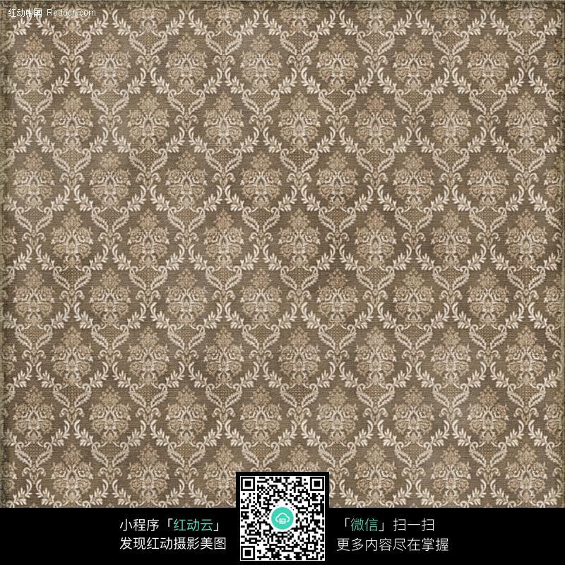 怀旧欧式地毯花纹图片_底纹背景图片
