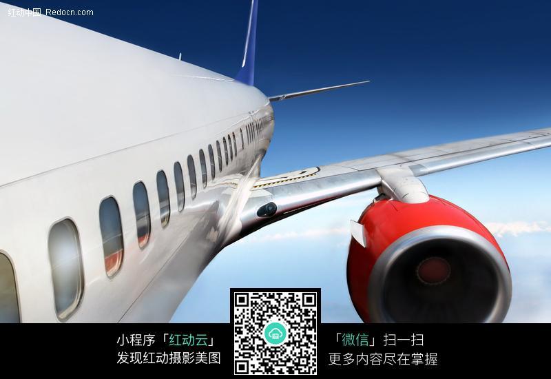 飞机发动机 航行飞机 客机 交通工具 民用飞机 科技图片 摄影图片
