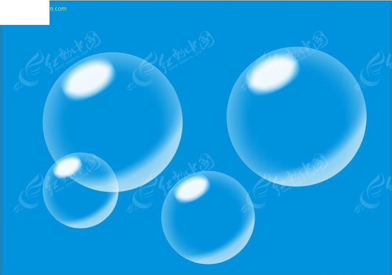 泡泡矢量图cdr免费下载