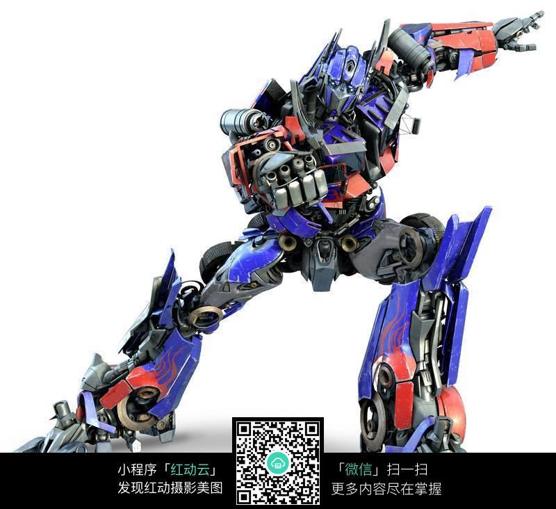 变形金刚 汽车人 擎天柱 机器人 领袖 人物素材 摄影图片高清图片
