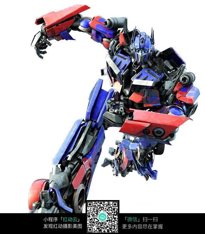 变形金刚汽车人擎天柱机器人图片