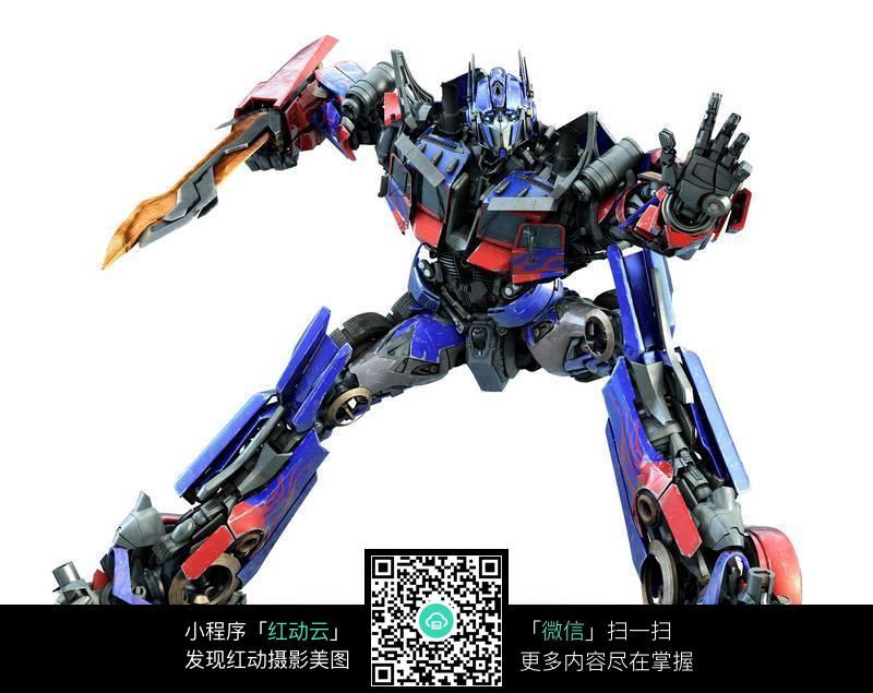 天柱机器人图片