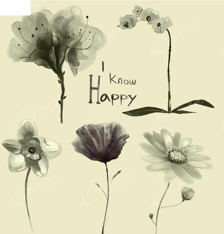 免费素材 psd素材 psd花纹边框 花纹花边 水墨花朵  请您分享: 素材