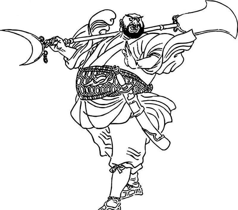 花和尚鲁智深-水浒传人物