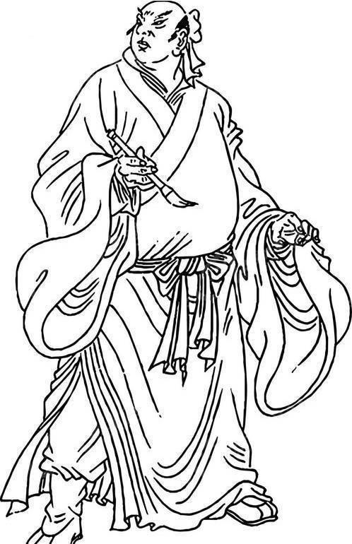 圣手书生萧让-水浒传人物
