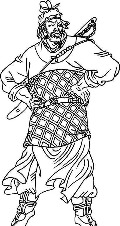 传_摸着天杜迁-水浒传人物